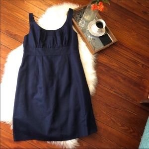 J. Crew navy blue bridesmaid cocktail dress 12